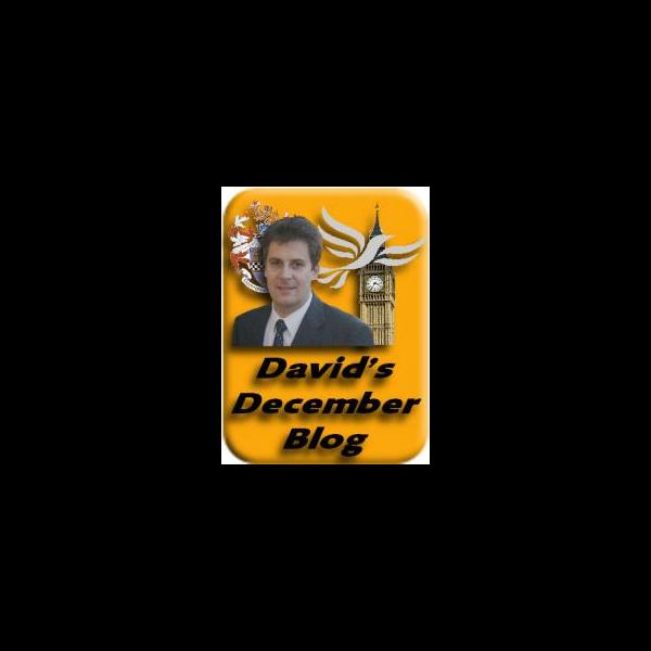 David's December Blog