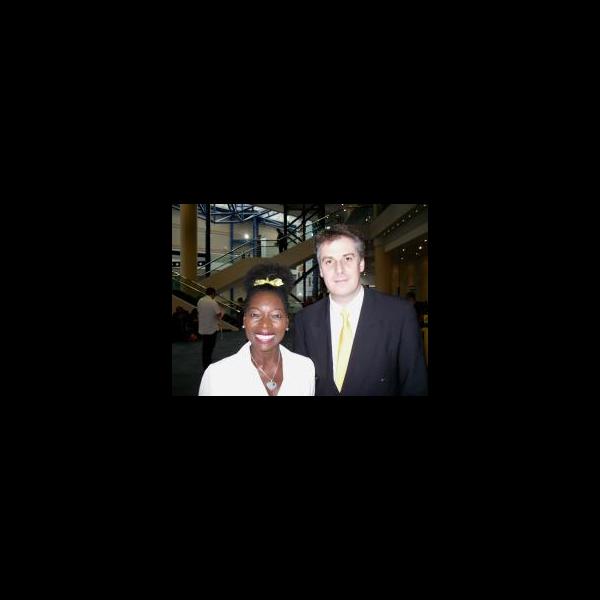 Floella Benjamin OBE and David Goodall