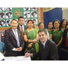 David Goodall signing the petition to support the Gurkhas justice campaign