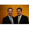 Liberal Democrat Leader Nick Clegg MP and Cllr David Goodall