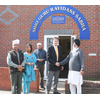 David Goodall visiting a Sikh Temple or Gurdwara in Southampton having helped them with their Sunday morning parking problem