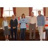David Goodall with the Hampshire Against Fluoride Campaign in Woolston, Southampton