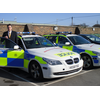 David Goodall on a visit to Hampshire Police's traffic divison
