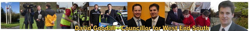 David Goodall - Councillor for West End South