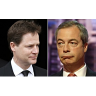 Nick Clegg vs Nigel Farage