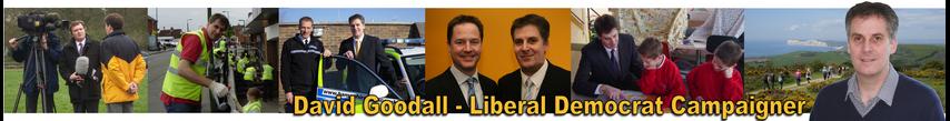David Goodall - Liberal Democrat Compaigner