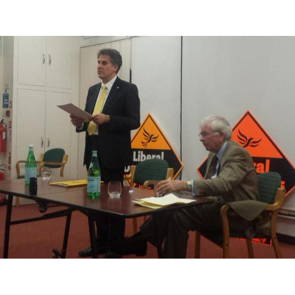 David Goodall launches campaign supported by past Lib Dem MP for the Island Dr Peter Brand