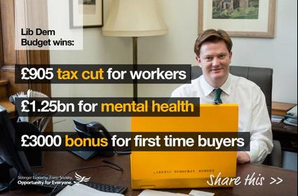 Lib Dem highlights in the 2015 Budget
