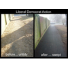 Liberal Democrats - Sweep Up on Townhill Farm, West End