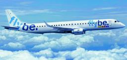 Flybe is the first customer for the Embraer 195 aircraft