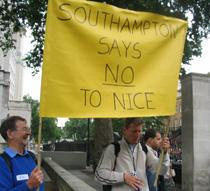 Protests in Southampton