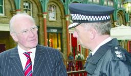 Sir Ming Campbell discusses crime issues