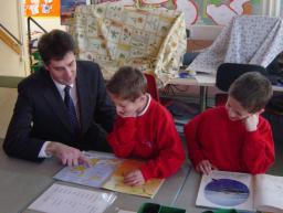 David Goodall at Townhill Infant School
