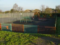Moorgreen play area before the revamp