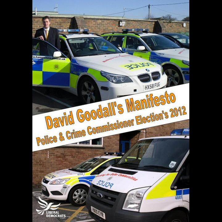 David Goodall's manifesto