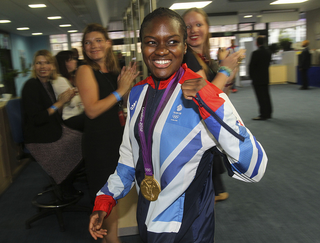 Olympic Boxing Gold Medal Winner Nicola Adams (Picture taken for GOC by David Poultney)