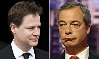 Nick Clegg vs Nigel Farage